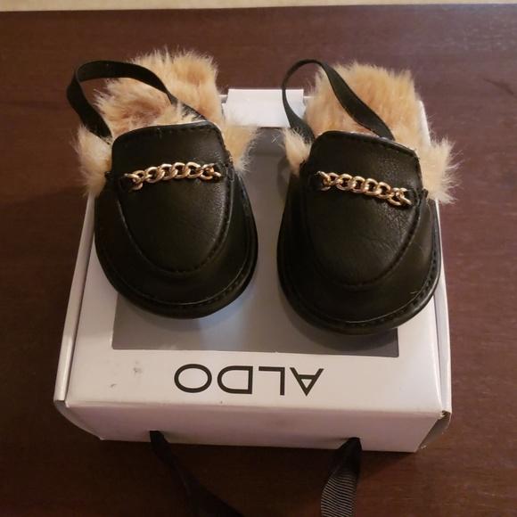 d87a86f853 Aldo Shoes - NWOT ALDO Baby Fur Slides. Aldo Other - NWOT ALDO Baby Fur  Slides